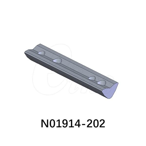 立体框架型材系列-螺母-M4