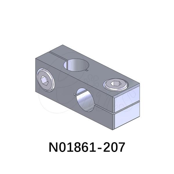 十字连接块-φ8φ8