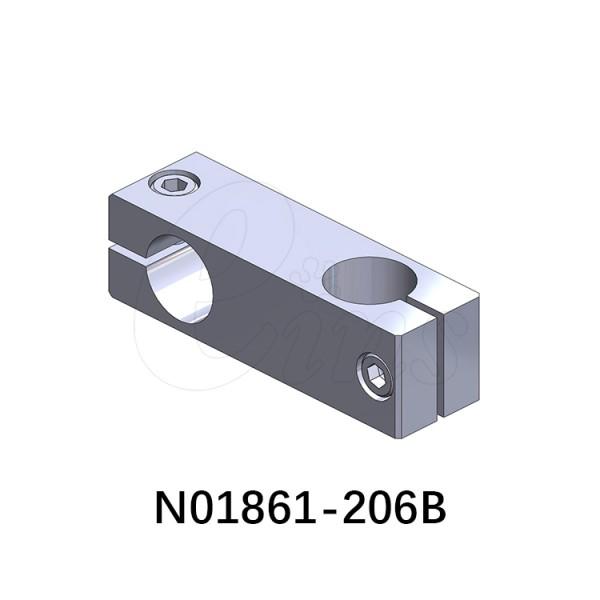 十字连接块-长条型-φ20φ20