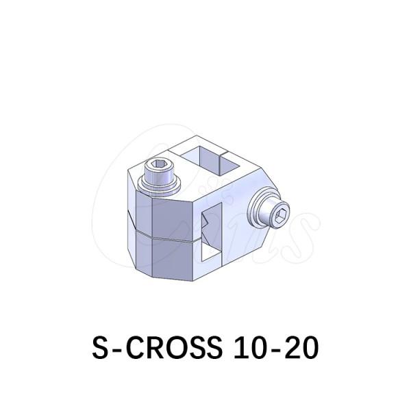 方形十字连接块-10-20